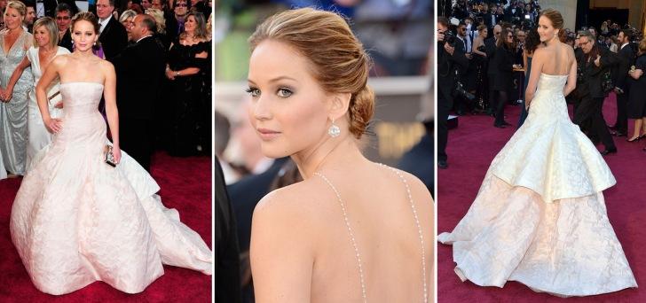 Jennifer Lawrence Dior haute Couture3-montagem