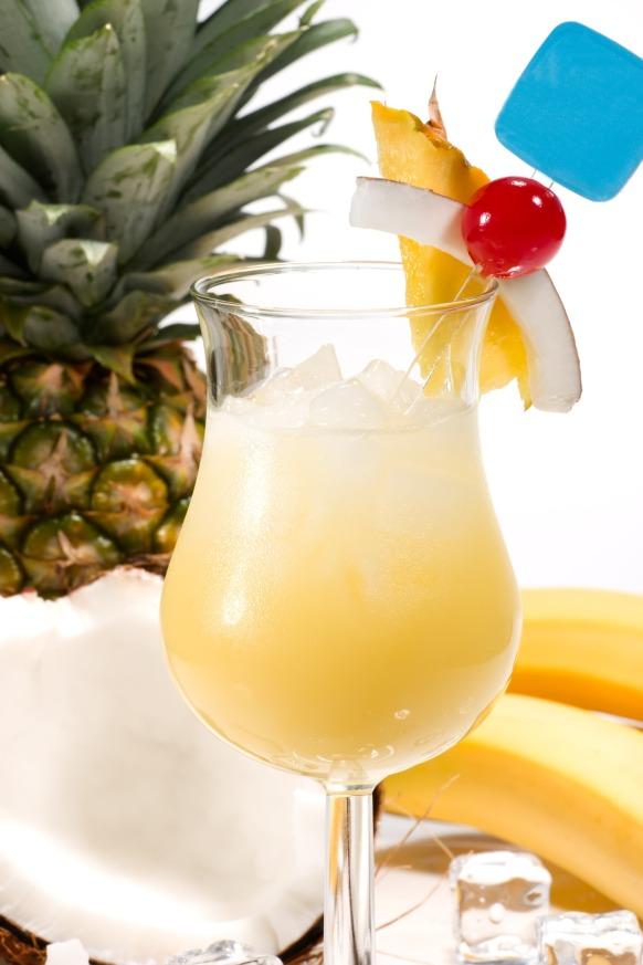 Most popular cocktails series - Pina Colada