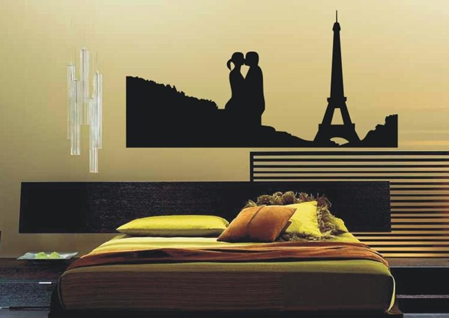 (Re)Decorando o quarto ~ Adesivo De Parede Para Quarto Casal Romantico